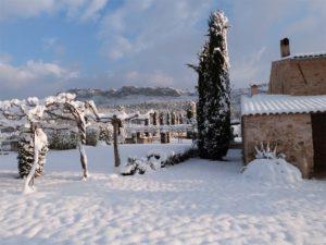 La neige au domaine