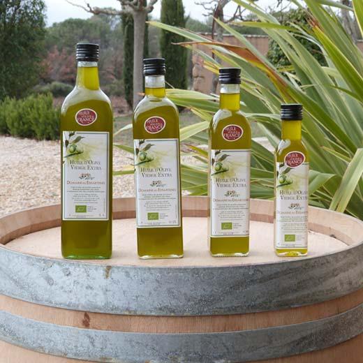 L'huile d'Olive du Domaine