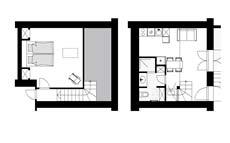 plan appartement Lune -Domaine des Eissartenes